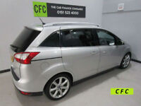 2012 Ford Grand C-MAX 1.6TDCi 115 7seats Titanium BUY FOR £26 A WEEK *FINANCE*