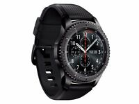 SAMSUNG Galaxy Gear S3 Frontier Smartwatch SM-R760 Smart Watch Wi-Fi Bluetooth BRAND NEW
