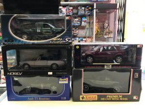 Voitures diecast 1:18 Solido Revell Welly Anson Collectibles