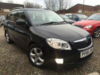✿59-Reg Skoda Fabia 1.4 TDI PD Estate GreenLine ✿VERY ECONOMICAL ✿CHEAP £20 TAX✿
