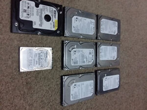 80Gb Formated HardDrives