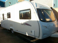Avondale osprey 4 berth top of the range caravan