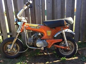 1973 Honda ct 70 - project bike