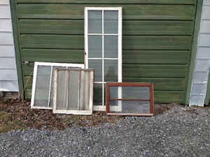 Old Antique Windows - see ad for pricing and sizes