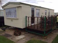 6 berth caravan at ingoldmells to let