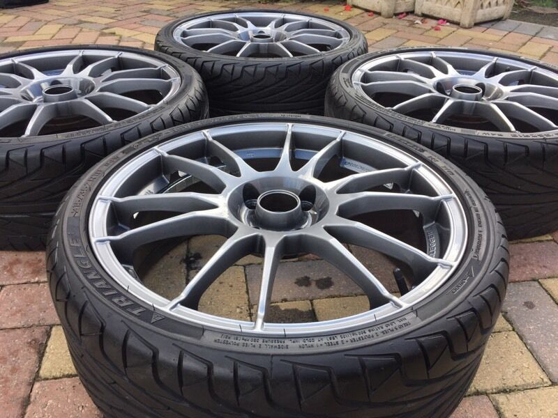 genuine 18 oz racing ultraleggera alloy wheels tyres ford rs st 4x108 in bromsgrove. Black Bedroom Furniture Sets. Home Design Ideas