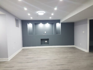 BASEMENT APARTMENT 2 bedroom for Rent -BRAND NEW READY TO MOVEIN