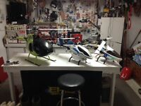 Rc helicopter kyosho caliber 30