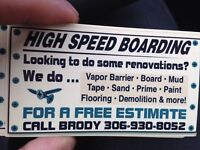 High Speed boarding & Renovations