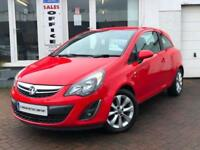 2014 VAUXHALL CORSA 1.2i 16v VVT (85ps) (a/c) EXCITE~LOW MILES~FSH~1 YEAR MOT