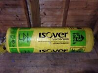 200mm Isover insulation new £14 a roll