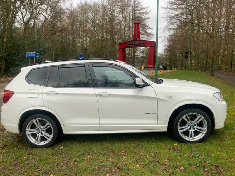 2012 BMW X3 xDrive35d M Sport 5dr Step Auto ESTATE Diesel Automatic