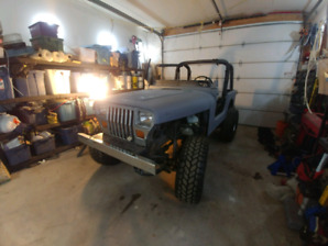 Jeep YJ project