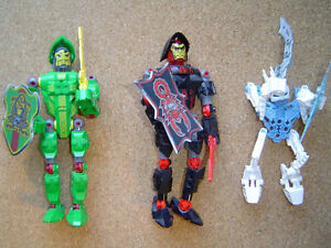 LEGO Bionicles NEW and USED