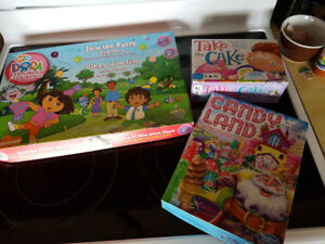 3 Board Games for children 3-6 years old