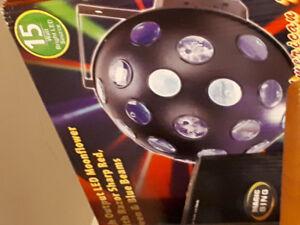 MOOFLOWER LED DISCO LIGHT BRAND NEW