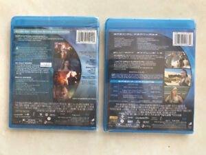 Residential evil. Two Blue Ray movies