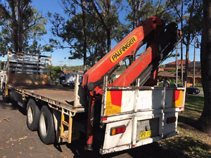 Nissan table top truck with crane Greystanes Parramatta Area Preview