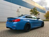 "2016 16 reg BMW M4 3.0 DCT Coupe + BLUE + M PERFORMANCE KIT + 20"" Alloys"