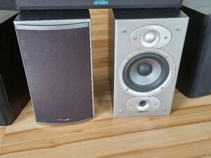 Polk Audio RTi4 High Performance Bookshelf Speakers (Pair, Black