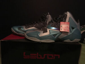 Lebrons never worn still have price tag on them