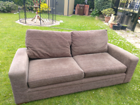 Brown NEXT sofa