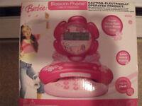 !!!!!BARBIE TELEPHONE---NEW IN BOX!!!!