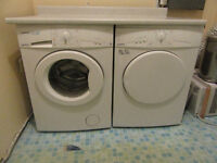 URGENT! SLIM Wash machine&dryer in good condition-negotiable