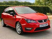 2014 SEAT Ibiza 1.2 TSI FR SportCoupe 3dr Hatchback Petrol Manual