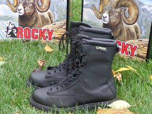 Men's Rocky Winter Leather Police Boots, Brand New!!!! REDUCED!! Kitchener / Waterloo Kitchener Area image 1