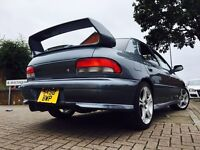 Subaru Impreza Version 5 STI very rare 69k FSH 1 owner