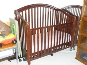 Quality Crib with Mattress & Accessories for Only $125
