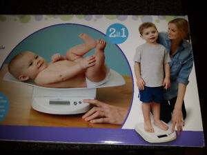 Baby to kid digital scale