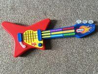 Little Tykes guitar