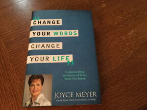 Brand new book change your word change your life