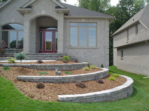 PAVING STONE, PATIOS, STONEWORK, BUILT-IN BBQS, HOT TUB AREAS London Ontario image 1