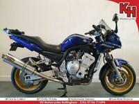 Yamaha FZS1000 Fazer 2003 Blue - Scorpion Exhaust, Givi Topbox Rack + Warranty