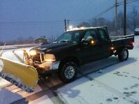 2003 Ford F-250 with plow