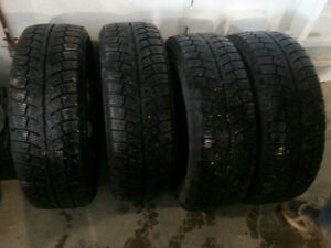 Duron D209 winter rims/tires 195R60-15