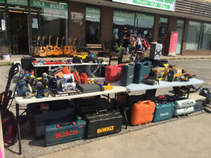 lots of TOOLS FOR SALE AT REX&CO PAWNSHOP UP TO 30% OFF