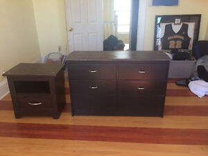 Dresser and night table