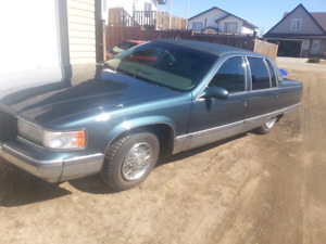 1995 Cadillac Fleetwood Brougham  (with parts car)