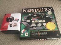 Tabletop Poker Set
