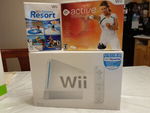 Wii game console