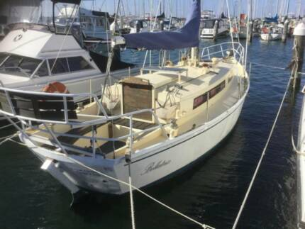 "Yacht, 31ft Colin Childs Kingfisher ""Bellatrix"""