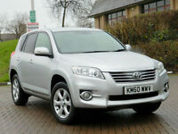 2011 60 Toyota RAV4 2.2 D-4D XT-R 5dr WITH ALL EXTRAS+SATNAV+HDD+