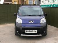 2010 Peugeot Bipper Tepee 1.4 HDi 8v Tepee Outdoor 2-Tronic 5dr