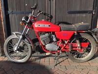 Moto Guzzi 125 Torismo - Italian 2 Stroke Motorcycle