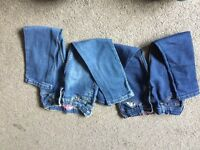 Girls jeans and Kate Mack leggings age 5 and 5-6