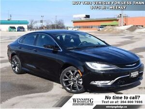 2015 Chrysler 200 C V6 w/Sunroof  Leather *SAFETY-TEC Group*  *L